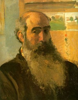 Camille Pissarro Self Portrait