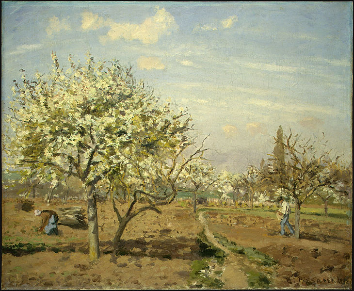 Orchard in Bloom, Louveciennes.
