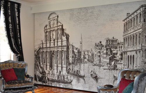 How to Paint a Wall Mural Example4