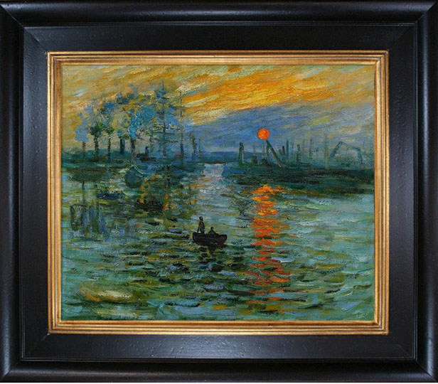 Canvas Prints Monet Painting