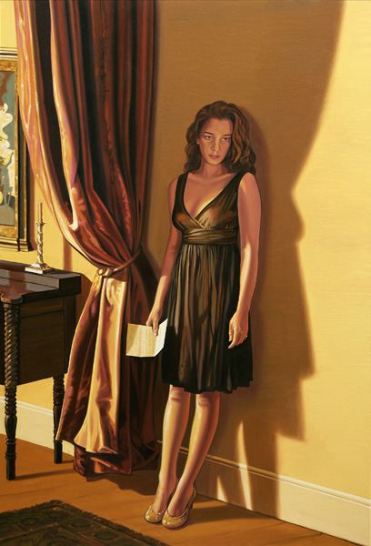 Sarah Jane Mark Stock Oil Painting