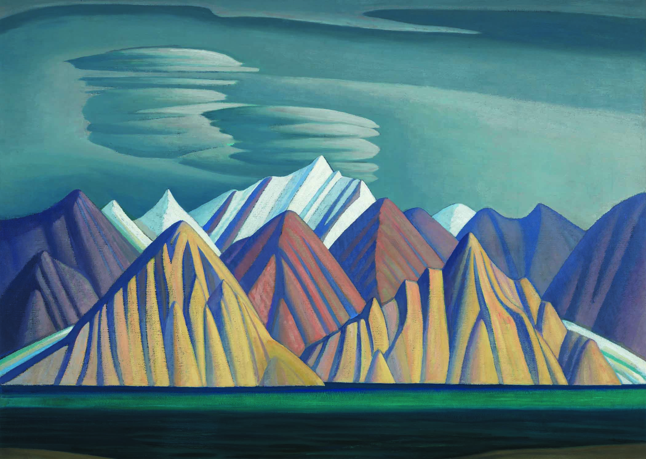 Lawren Harris Oil Painting Bylot Island