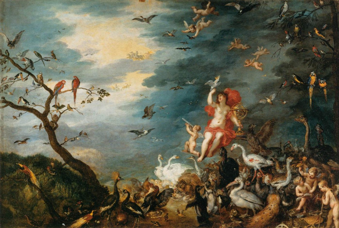 Air Optics Oil Painting Jan Brueghel the Elder