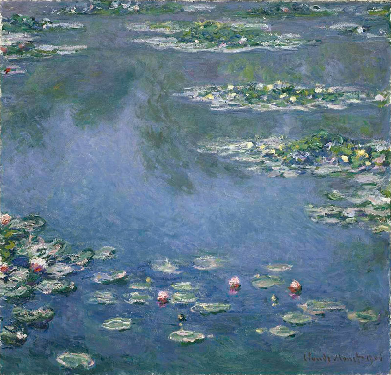 Claude Monet Water Lilies Oil Painting