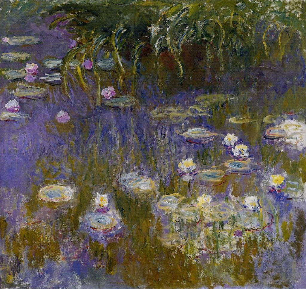 Monet Water Lilies Paintings